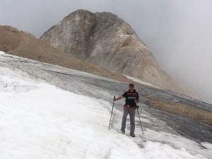 2. A la glacera de la Marmolada