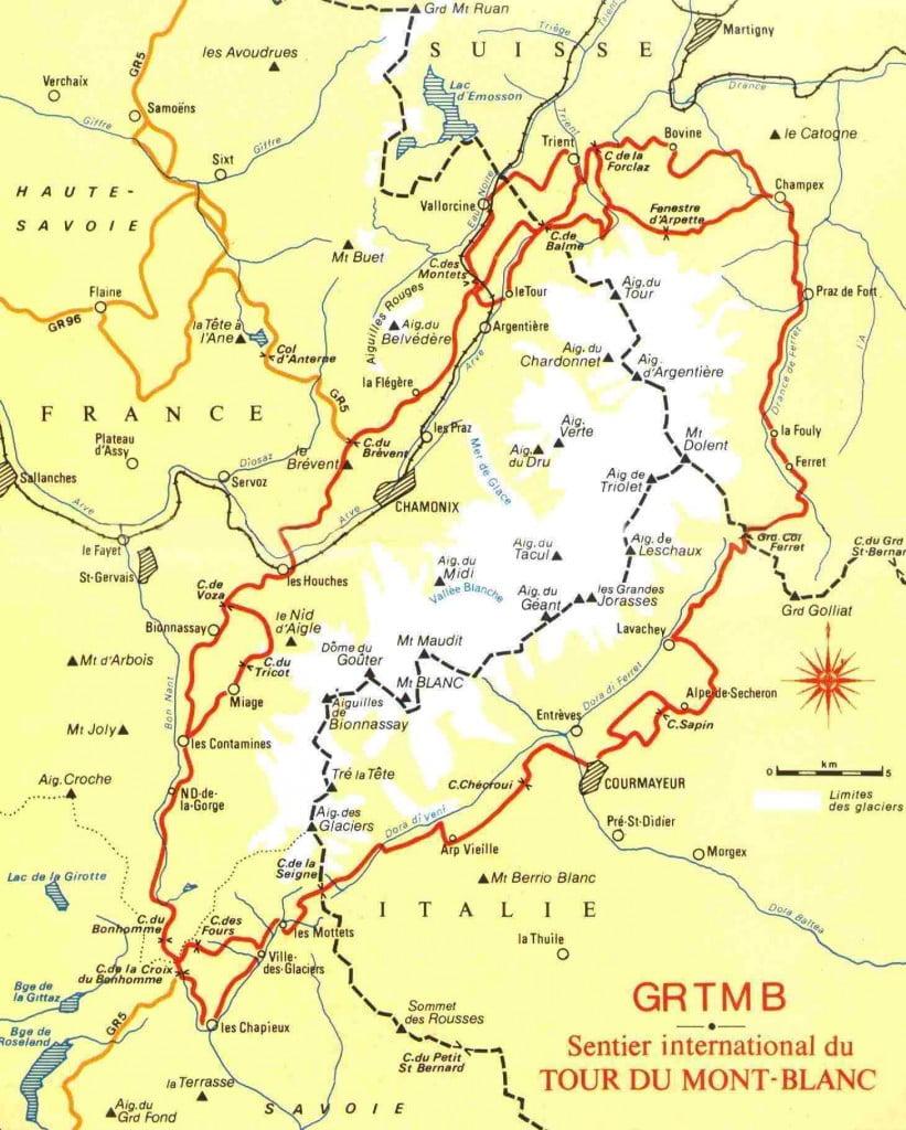 Tour-du-Mont-Blanc-Map