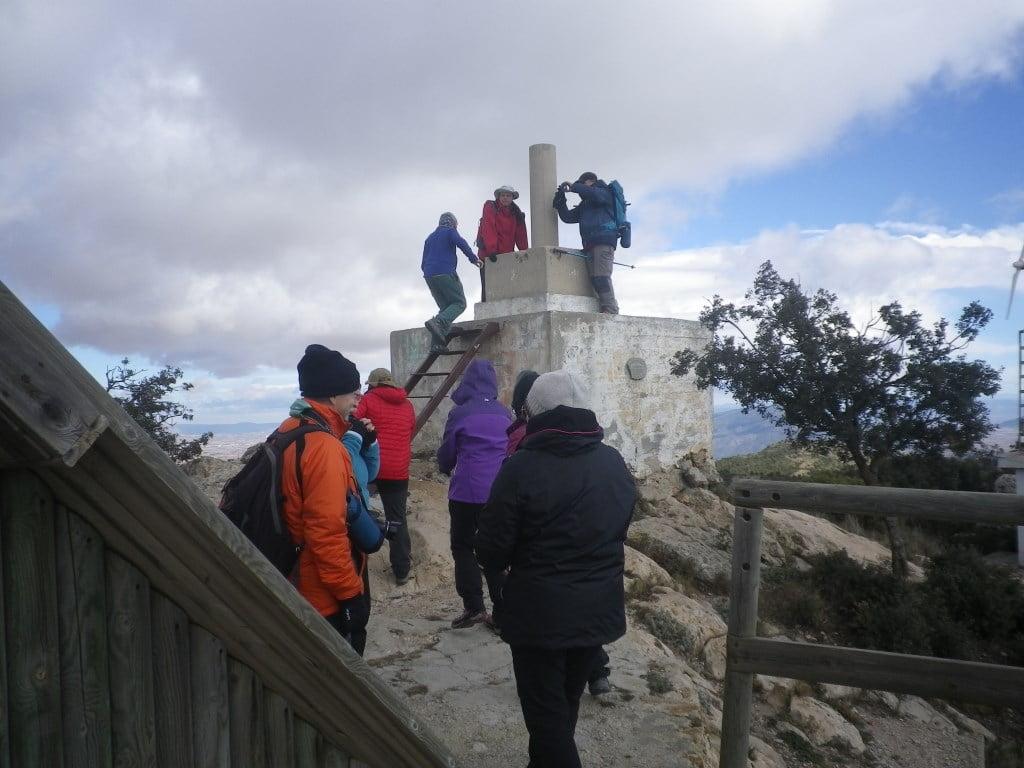 El Carche, 1371 m. Concurso de las 12 Cumbres.