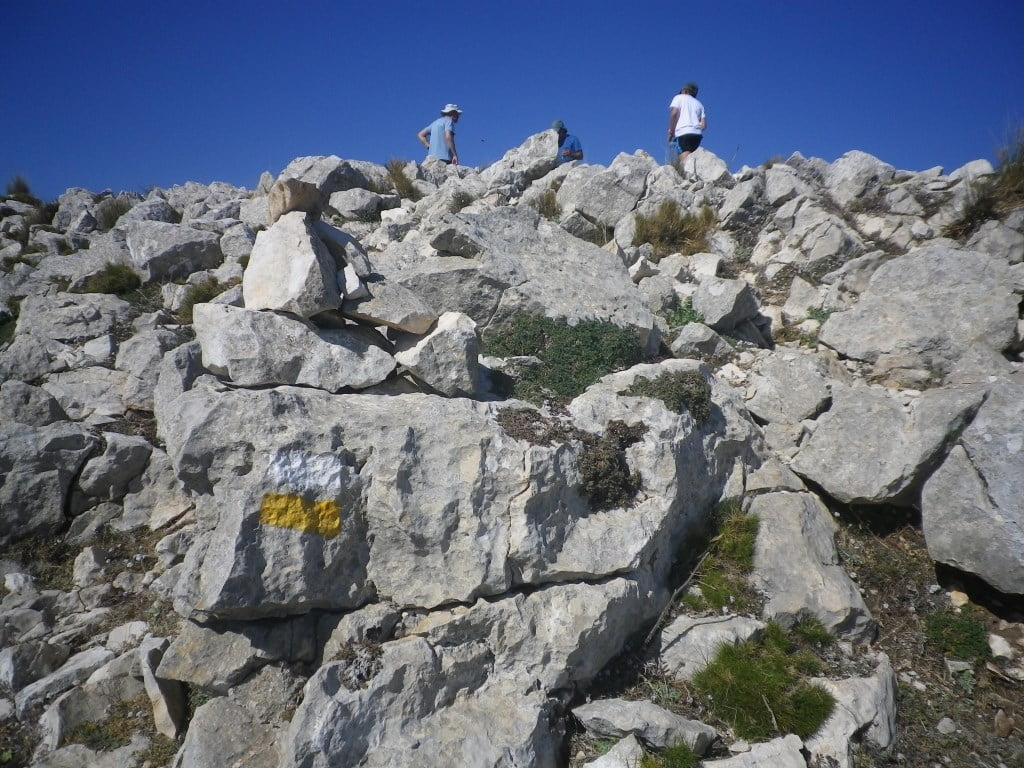 L'Aixorta, 1220 m. Consurso de la 12 cumbres (23/02/19).