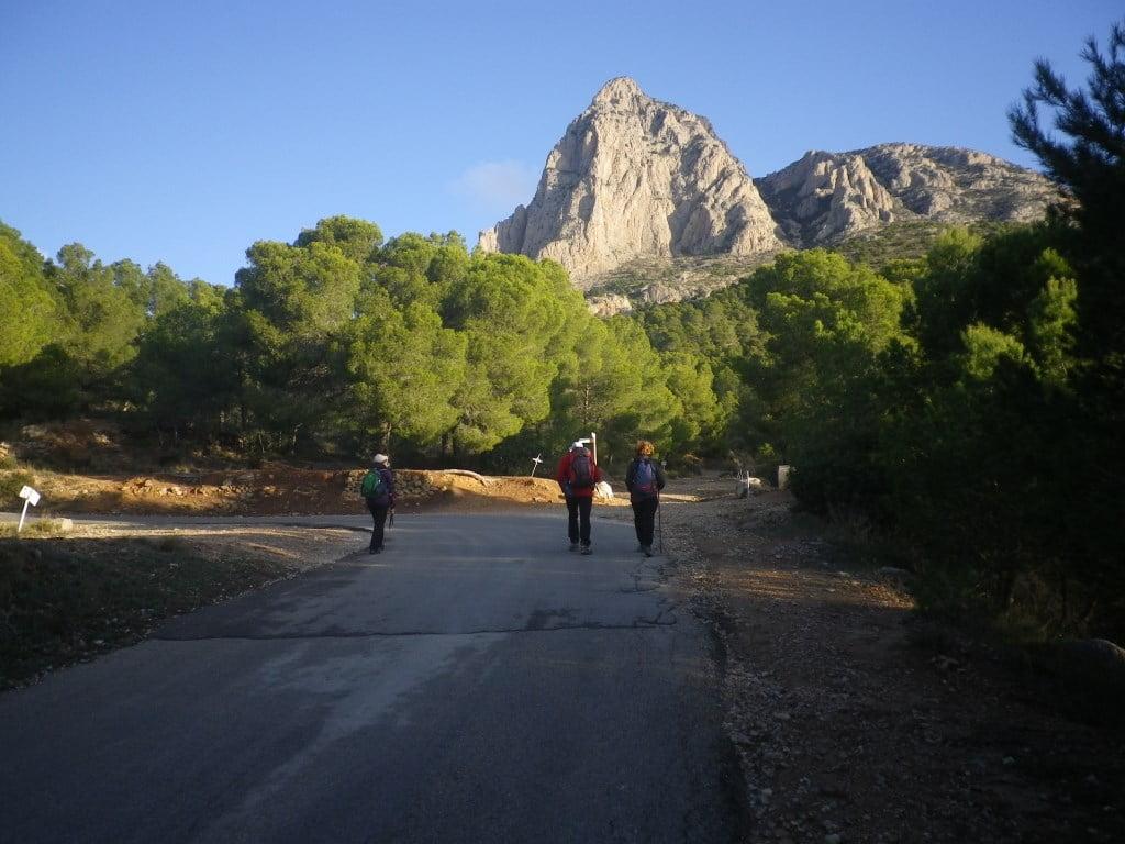 El Puig Campana, 1420 m.