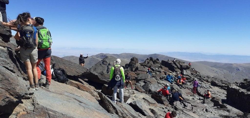 Mulhacen, 3482 m.