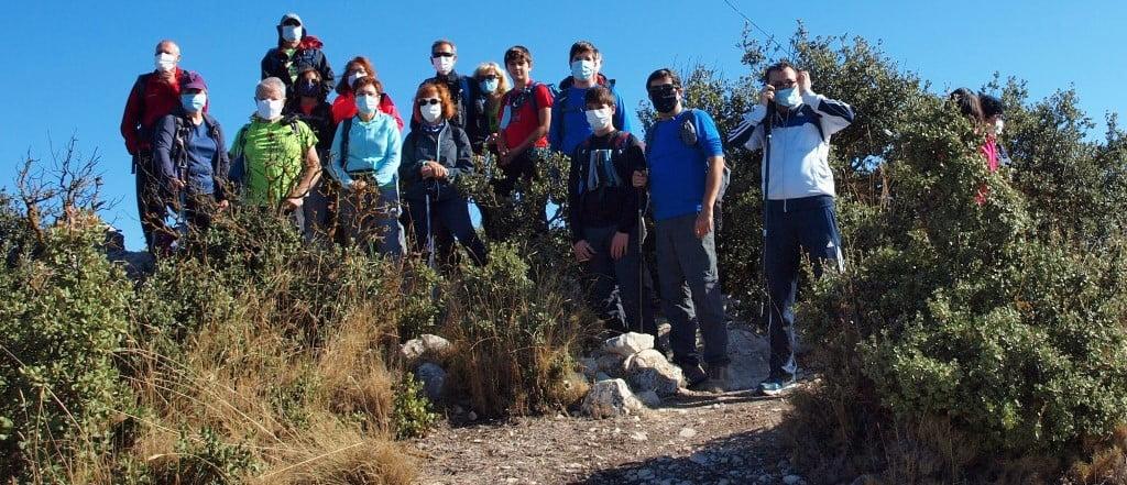 Alt de Guixop, 1249m. Concurso de las 12 cumbres.