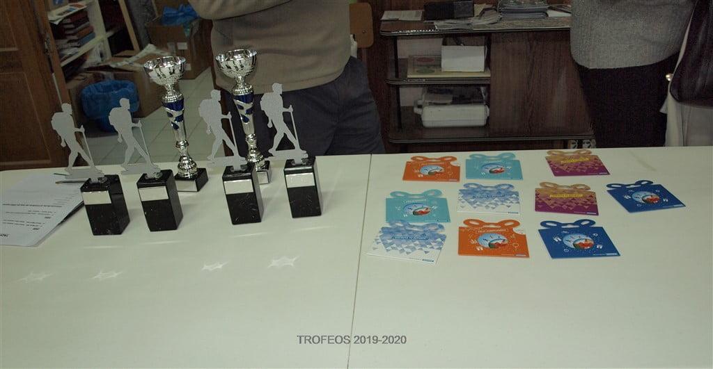 Entrega de Trofeos 2020.