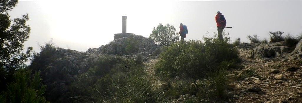 Alto de Don Pedro, 868 m. Sierra de la Sima.
