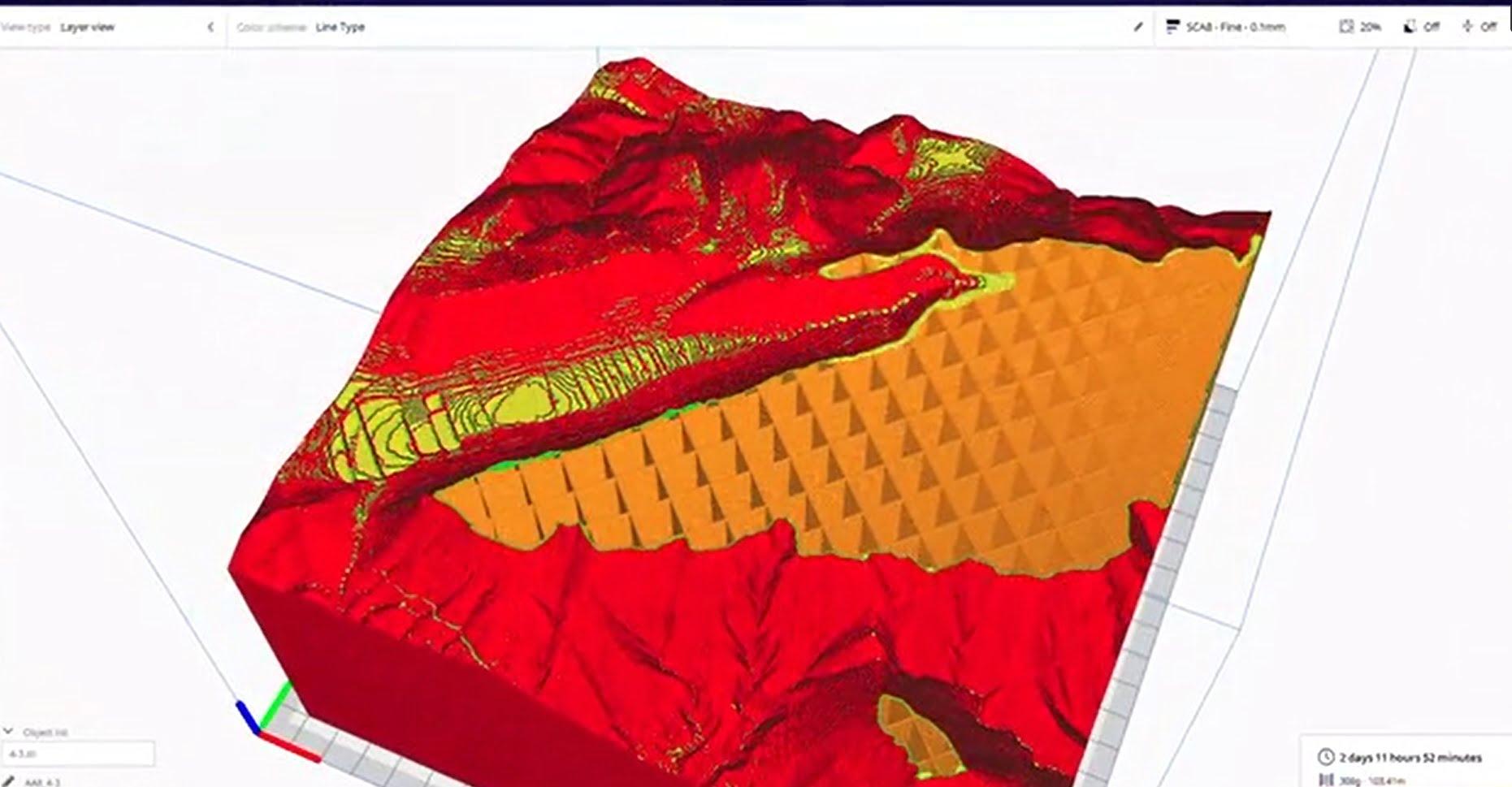 Reportaje sobre la creación de la maqueta 3D de la Sierra de Crevillent.