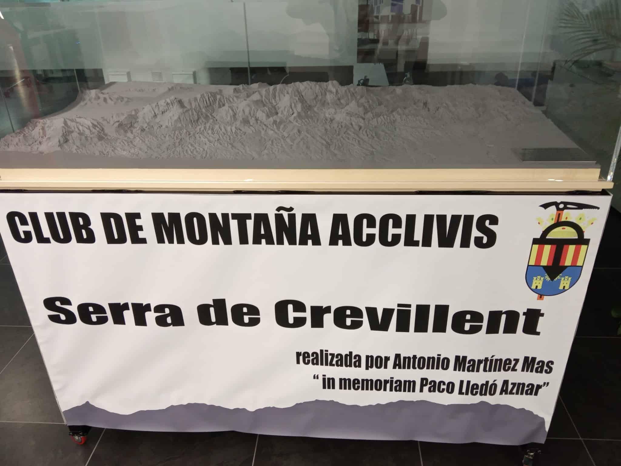 5 de Junio. PRESENTACIÓN MAQUETA 3D, SIERRA DE CREVILLENT.